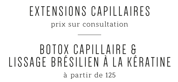 Extensions capillaires